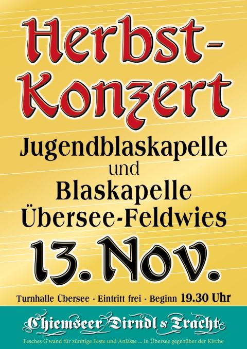 Herbstkonzert des Musikverein Übersee-Feldwies